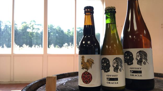 På Bad Seed Beer Fest vil det blandt meget andet være muligt at smage disse fadlagrede øl fra Bad Seed Brewing. Privatfoto