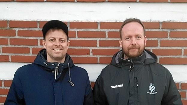 Peter og Morten. Foto: Privat.