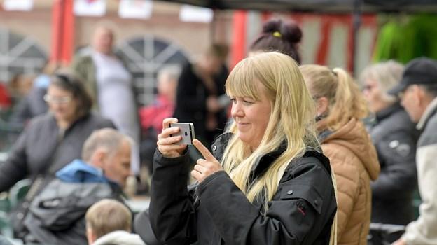 Der var allerede et pænt fremmøde kort tid efter Springbræt Festival slog de første toner an. Foto: Henrik Louis HENRIK LOUIS