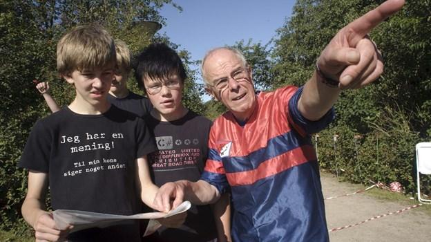 Rold Skov Orienteringsklub har tidligere arrangeret orienteringsløb for skoleelever. Arkivfoto: Martin Damgård Martin Damgård