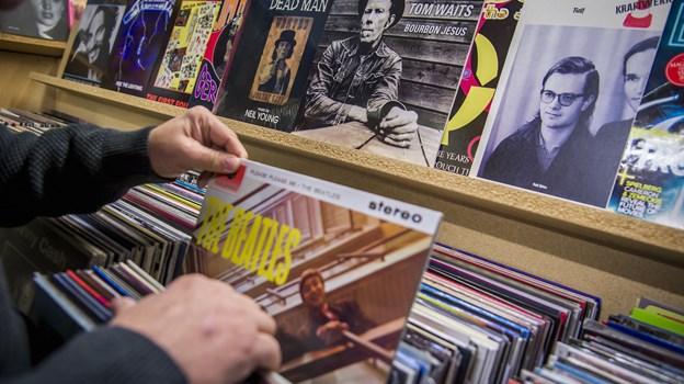 Der vil være guld at hente for pladesamlere til Record Store Day i Læsehesten på lørdag. Arkivfoto: Martin Damgård