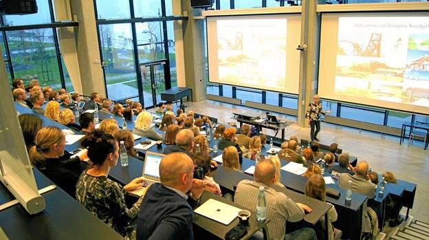 Turismen i Nordjylland er stagnerende, og den udvikling vil de omkring 80 deltagere i konferencen have vendt. Privatfoto