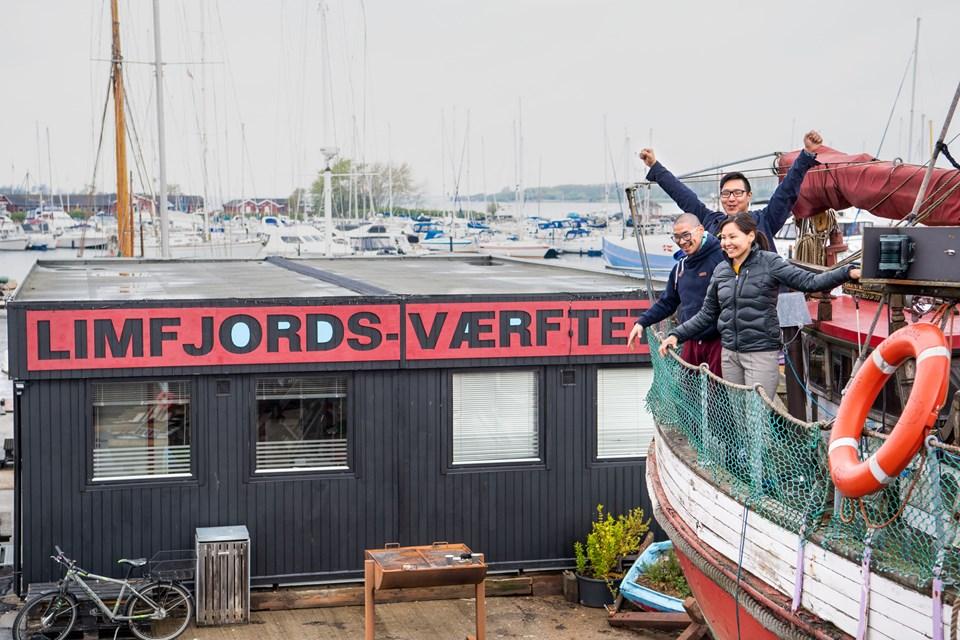 Arctic Street Food skal primært bruge faciliteterne på Limfjords-Værftet som træningssted. Foto: Teis Markfoged