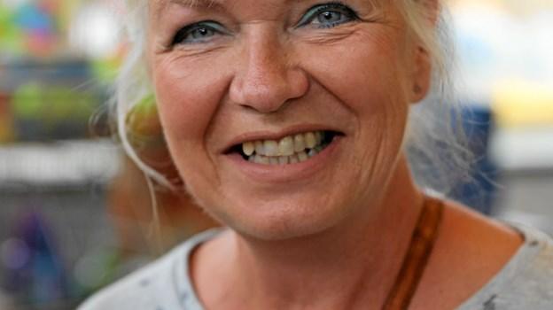 Bente Bønløkke: - Jeg tror på fællesskaber, så jeg håber, de forbliver i rigsfællesskabet. Jeg tror også, de vil få svært ved at klare sig uden. Foto: Allan Mortensen Allan Mortensen