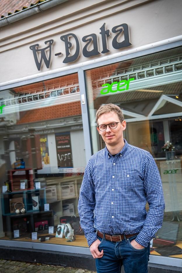 - Jeg tror ikke, at min branche uddør foreløbigt, siger Torben W. Hansen. Foto: Diana Holm @ Diana Holm