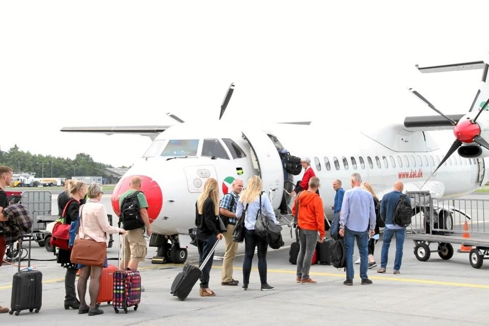 Første Fly Bornholm Propfyldt Nordjyskedk