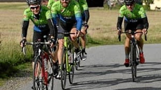 Cykelklubben lover, at der er et hold, der passer alle - nybegyndere såvel som erfarne cyklister. Foto: NBC