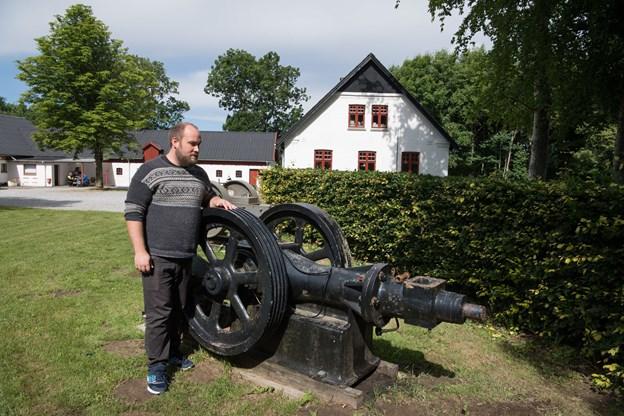 Et nyt projekt skal resultere i flere end 50 korte film, oplyser museumsinspektør Ander Rydal-Jensen, Museerne i Brønderslev Kommune.   Arkivfoto: Hans Ravn