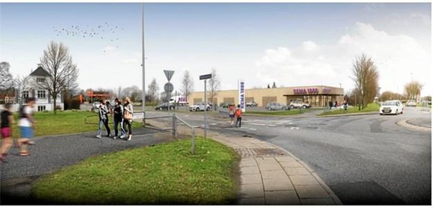 Realiseringen af Rema 1000-projektet vil i høj grad være afhængig af om borgerne i Gistrup synes, at det er en god idé.