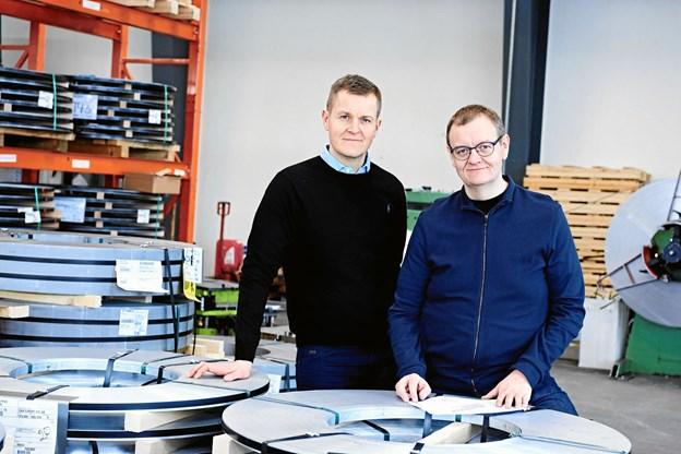 Søren og Christian Mosevang.PR-foto