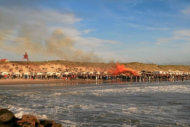 Løkken.dk ser frem til den nye sæson med blandt andet sankthansfest som en af de store begivenheder. Foto: Arkivfoto
