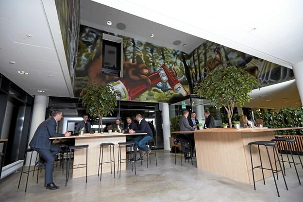Victors Madhus åbner en ny filial på Eternitten i Aalborg til september. Arkivfoto