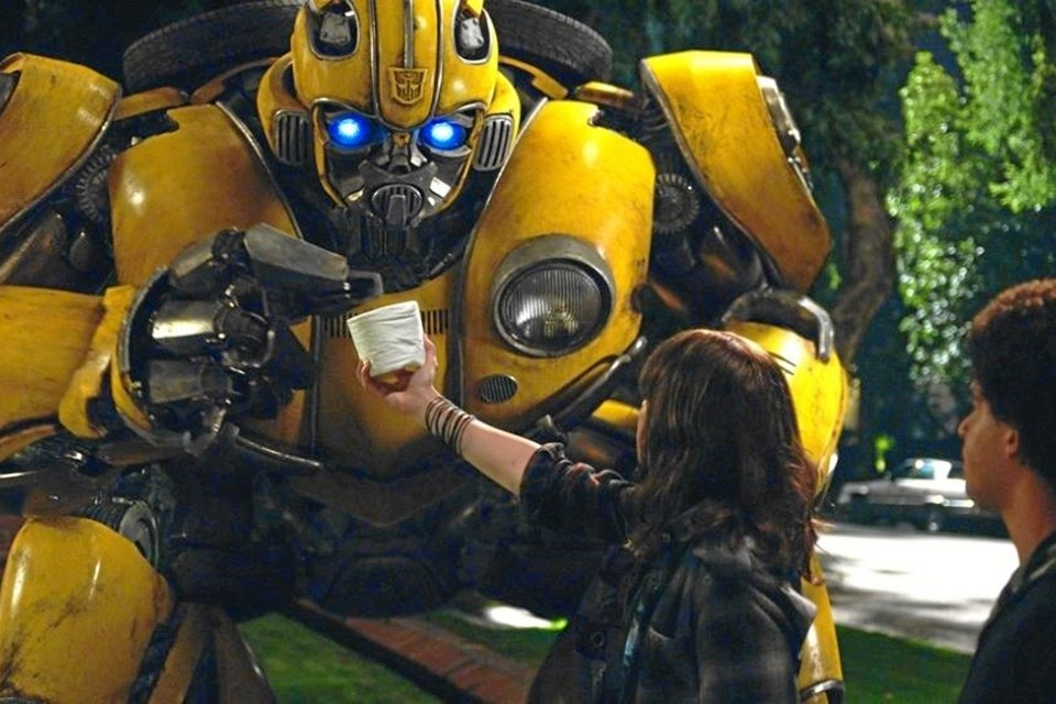 Bumlebee er en - robot.