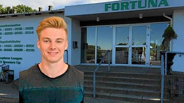 Den 1. september tiltræder 28-årige Nikolai Leth Klinge som daglig leder i Fortuna Hjørring. Foto: Fortuna