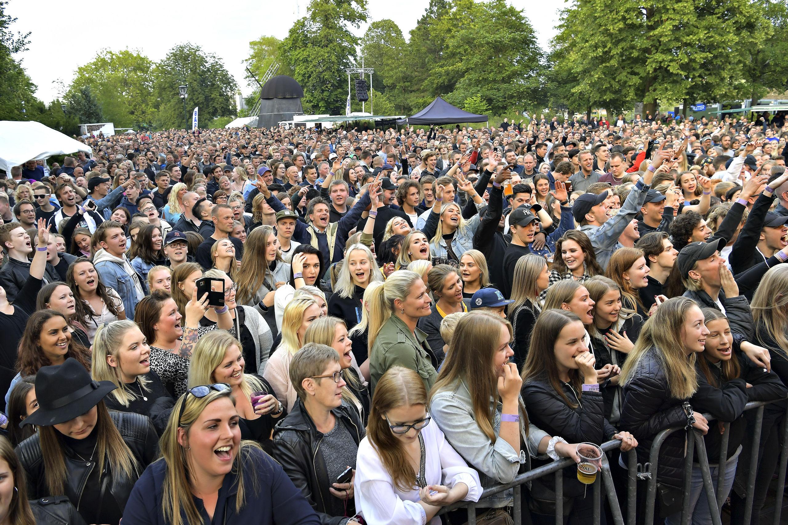 I morgen tager Skråen hul på den hidtil mest ambitiøse sommerkoncertrække. Arkivfoto: Claus Søndberg