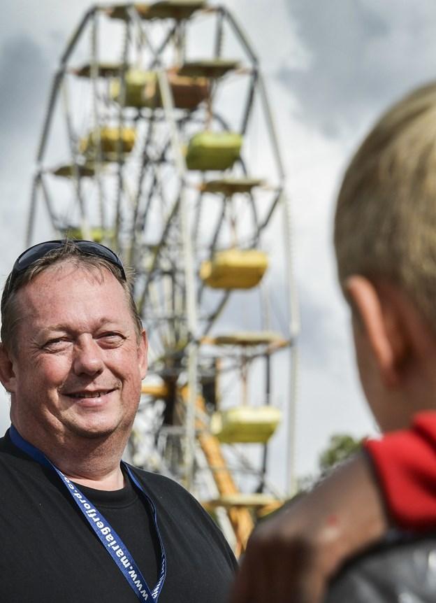 Andre aktører i kommunen vil også kunne have glæde af en permanent scene på Ambu Pladsen i Hobro, argumenterer Jørn Jensen, formand for Ambufesten. ?Arkivfoto: Michael Koch