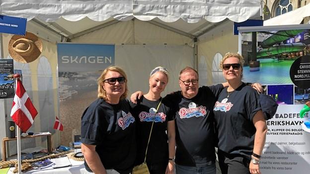 Turisthus Nord og Scandic the Reef var med til at markedsføre Skagen, Frederikshavn og Sæby i Kristiansand forud for Skagen Race.