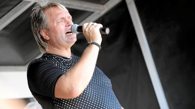 Johnny Hansen fra Kandis giver 23. juli koncert på havnen i Hals. Foto: Allan Mortensen