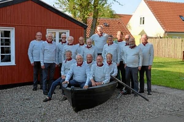 Der er koncert med Kystmuseets Maritime Mandskor Gasterne 1.maj.