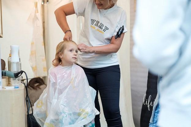 Pop op salonen klarer kunder i alle aldre. Foto: Lasse Sand