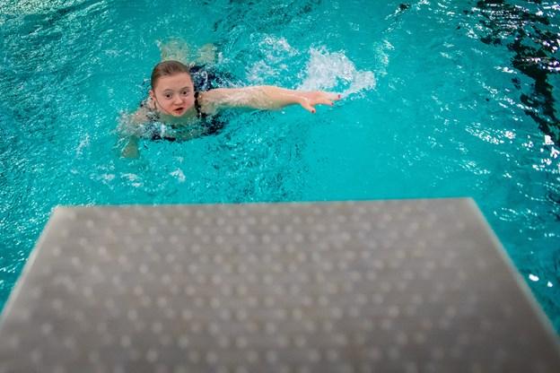 Alle kan lære at svømme viser erfaringerne fra Skagen Svømmeklub. Foto: Martin Damgård Martin Damgård
