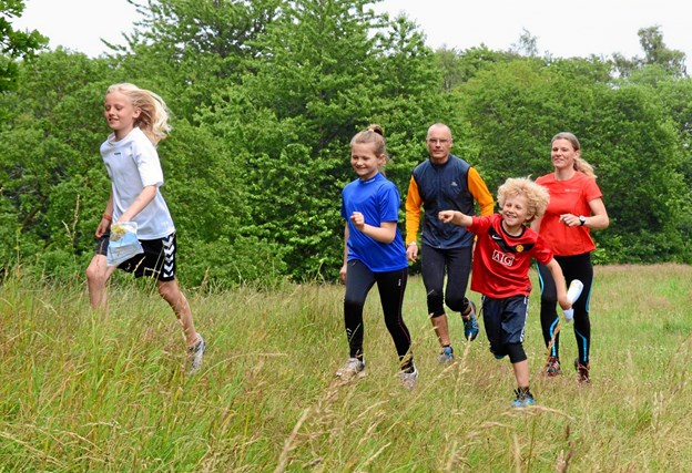 Der vil være udfordringer for hele familien, når Mariager Fjord Orienteringsklub 23. marts inviterer til træningsløb i Hou Skov. Privatfoto