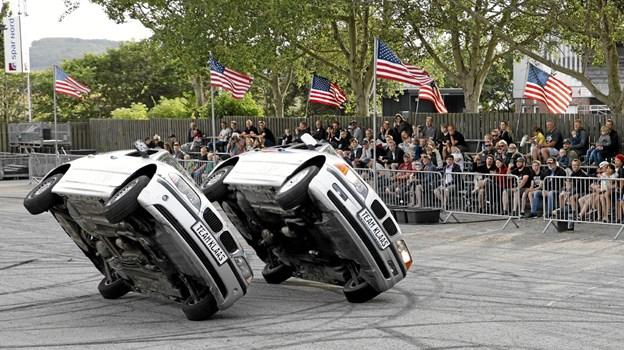 Fantastisk balancekunst på 2 hjul Foto: Michael Madsen Michael Madsen