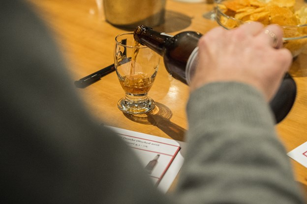 Der skal Thisted-øl i glassene