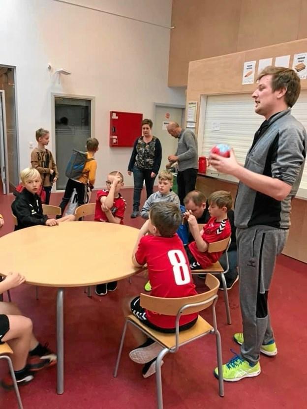 Det de unge spillere en masse god erfaring af spille med i en Cup.