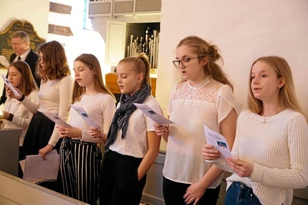 De lokale kirkekor giver 22. maj forårskoncert i Vester Hassing Kirke. Foto: Allan Mortensen