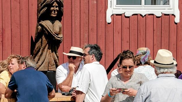 Havnefesten i Ålbæk skudt i gang. Foto: Peter Jørgensen Peter Jørgensen