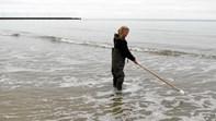 Friske vandprøver for vinterbadere i Løkken