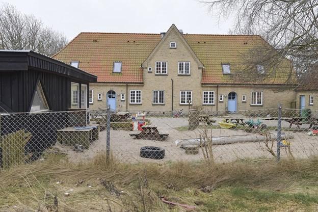 Børnehuset Mariehønen i Vrensted blev stiftet som selvejende institution i 2011. Arkivfoto: Bente Poder