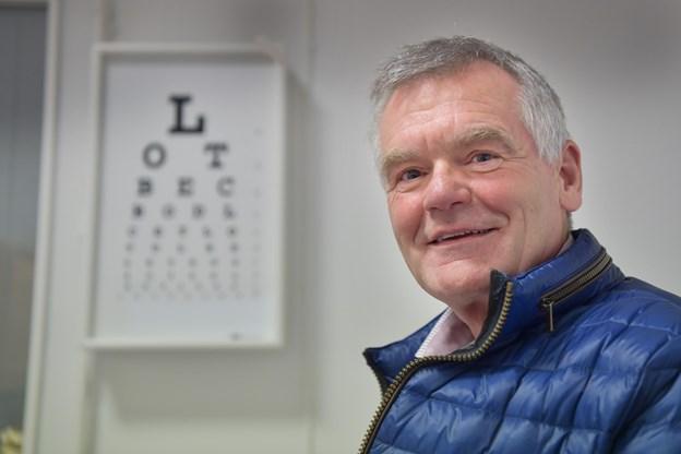 Klinikchef Peter Gaardbo Simonsen glæder sig til at komme i gang - og særligt til at man kan komme ud i de spritnye lokaler. Foto: Bente Poder