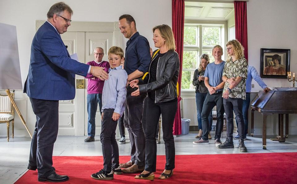 Pernille K. Damsgaardog Martin Damgård (foto)