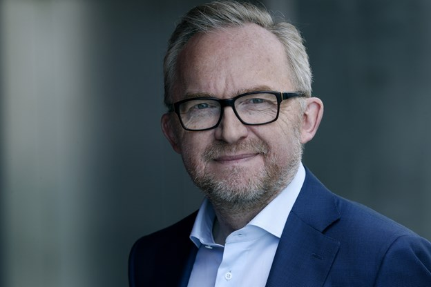 Jesper Theilgaard - taler 21. februar om klimaforandringer i den gamle byrådssal i Løgstør. Arkivfoto