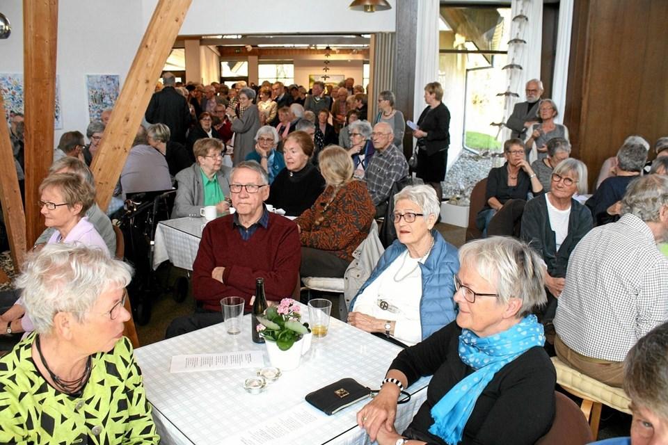 Rekordmange besøgende fandt i 2018 vej til Kunstcentret. Billedet her er fra en af de velbesøgte ferniseringer.Foto: Jørgen Ingvardsen Jørgen Ingvardsen