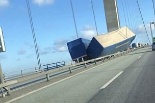 Uheld lukkede Storebæltsbroen i mere end fire timer