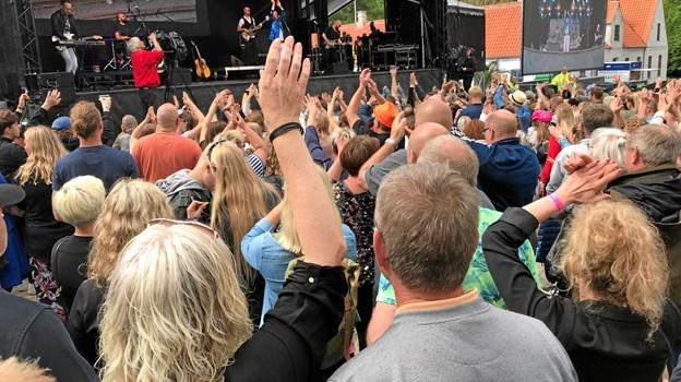 Rock i Frederikshavn blev en fest fra starten - for stort set alle var klar fra første koncert.