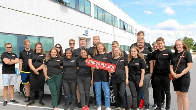 De unge tager rundt i Nordjylland i disse dage.