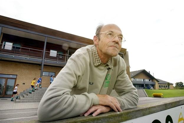 Ingolf modtog en pris.Arkivfoto. Henrik Louis