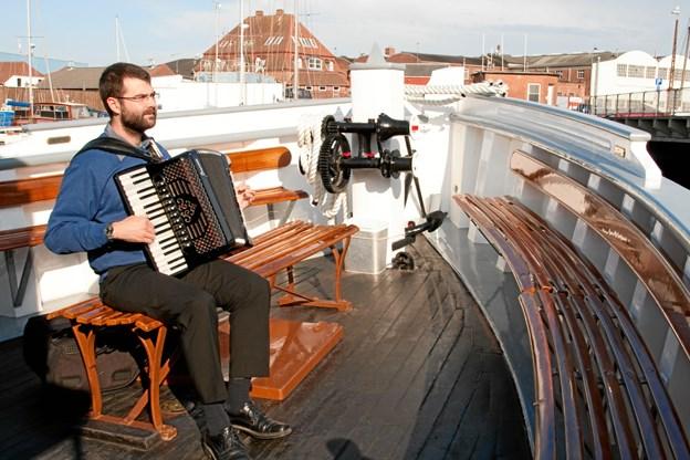 Musikken leveres af Troels Pedersen og de spillevenner, han tager med. PR-foto