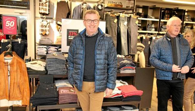 Butikkerne er klar til modeshows. Foto: Flemming Dahl Jensen Flemming Dahl Jensen