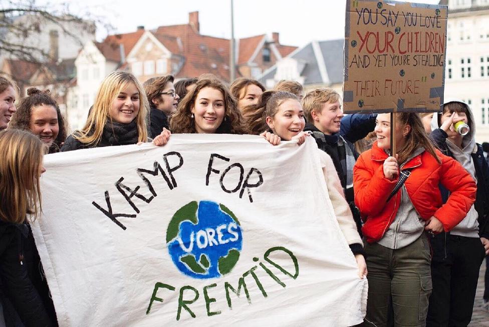 Fredag bliver der klimastrejket over hele verden - også i Aalborg. PR-foto
