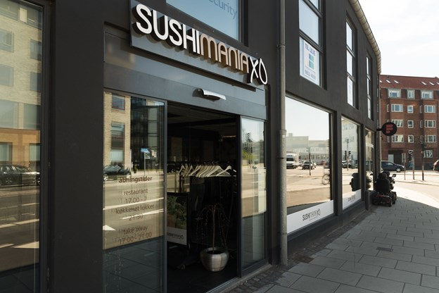 Sushi Mania XO på Strandvejen er klar med klimavenlig sushi. Arkivfoto: Matthew Burnett