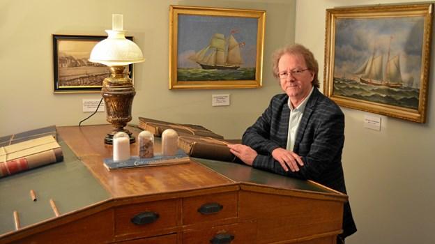 Henrik Gjøde Nielsen er netop udnævnt til direktør for Kystmuseet i en kombineret stilling som museumsdirektør og forskningschef. Privatfoto.