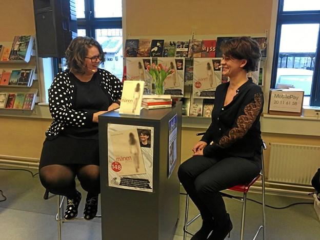 Sandra O'Brien Kirk var første navn på årets Ord i Nord-program. Hun blev interviewet af Lena Elise Green fra Rebild Bibliotekerne.