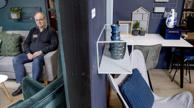 Byggemarkedet er nu indrettet så afdelingerne hænger bedre sammen. Foto: Lars Pauli © Lars Pauli