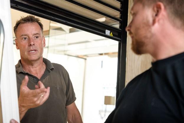 Niels Jørgen Rasmussen (t.v.) er bevidst om, at konkurrencen om aalborgensernes gunst bliver hård, men den kamp er han klar til at tage. Foto: Nicolas Cho Meier