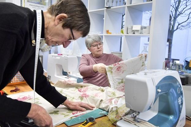 Røde Kors i Brønderslev håber, at flere vil være med i systuen. Foto: Bente Poder